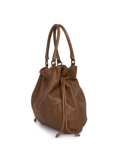 The Bulk camel-coloured tote - IKKS Women